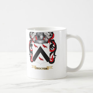 Proctor Coat of Arms (Family Crest) Coffee Mugs