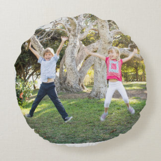 Proctor Family round pillow