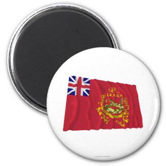 Proctor's Independent Batallion Flag 2 Inch Round Magnet