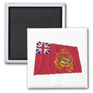 Proctor's Independent Batallion Flag 2 Inch Square Magnet