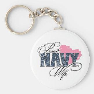 Prod Navy Wife Keychains