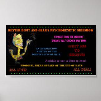 Prodigal Freak Sideshow Poster