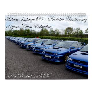 Prodrive P1 10 Year Anniversary Event Calendar