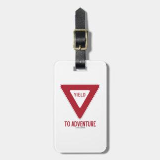 Producción a la aventura (muestra de producción) etiquetas bolsa