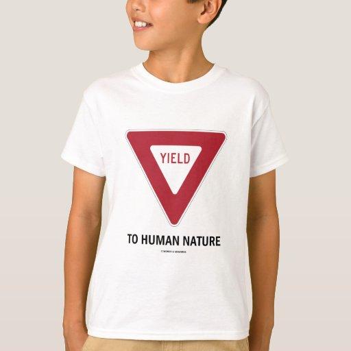 Producción a la naturaleza humana (muestra de camisas