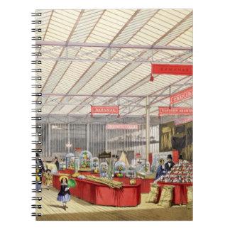 Producción colonial en la gran exposición de 1851, notebook