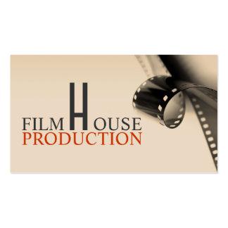 Producción del productor de películas de director tarjetas de visita