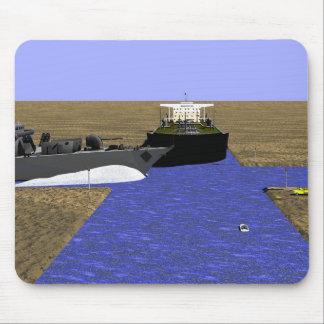 Producción energética - humor del campo petrolífer tapetes de ratón