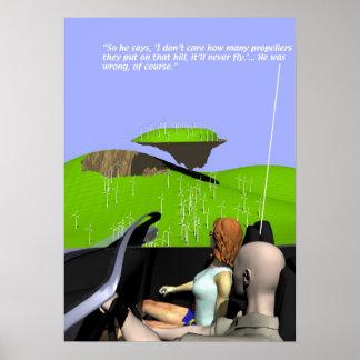 Producción energética - parque eólico - posters