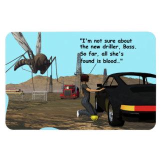 Producción energética - taladradora del mosquito imanes