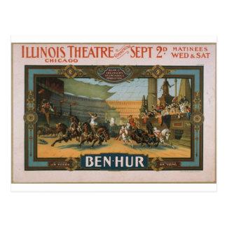 Producción estupenda de Ben-Hur Klaw y de Erlanger Postal