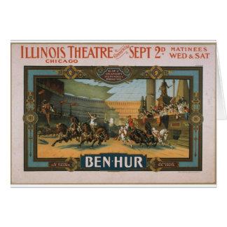 Producción estupenda de Ben-Hur Klaw y de Erlanger Tarjeta De Felicitación