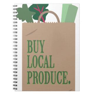 Producción local cuaderno