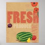 Producción orgánica póster