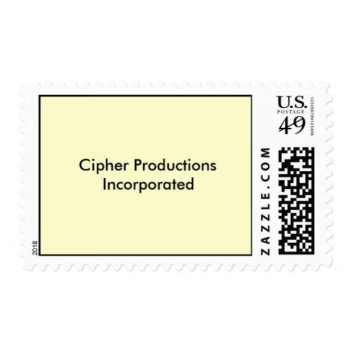 Producciones de la cifra incorporadas sellos