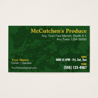 Produce Business Card
