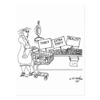 Produce Cartoon 4342 Postcard