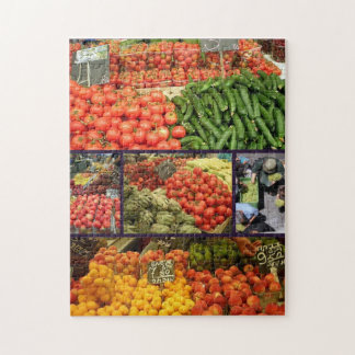 Produce Collage Puzzle 02