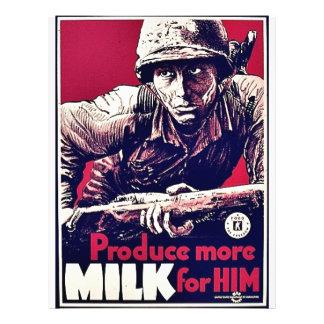 Produce More Milk For Him Custom Flyer