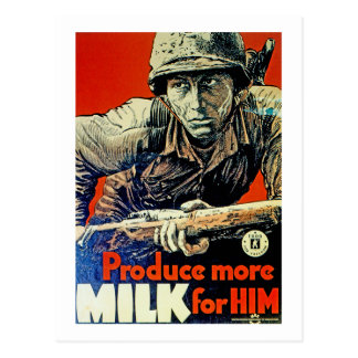 Produce More Milk for Him Postcard