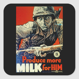 Produce More Milk for Him Square Sticker