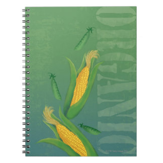 Produce Spiral Note Books