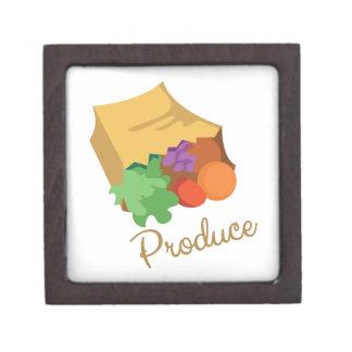 Produce Premium Keepsake Box