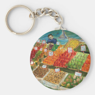 Produce Vendor Keychain (Pike Place Seattle)