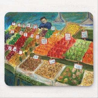 Produce Vendor Mousepad (Pike Place Seattle)