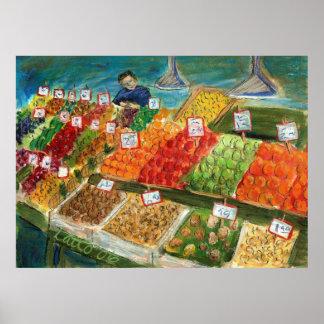 Produce Vendor Poster
