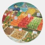 Produce Vendor Sticker (Pike Place Market Seattle)