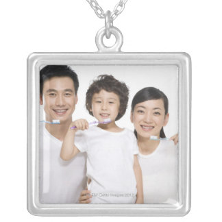 Produced by Blue Jean Images in Beijing, China Silver Plated Necklace