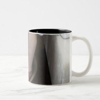 Produced in Beijing, China 4 Two-Tone Coffee Mug