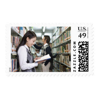 Produced in Beijing, China Postage Stamp