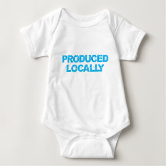 Produced Locally Baby Bodysuit
