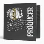 Producer Alchemy 3 Ring Binders