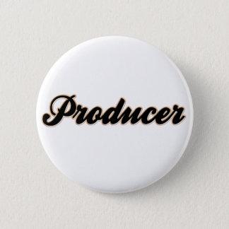 Producer Baseball Style Button
