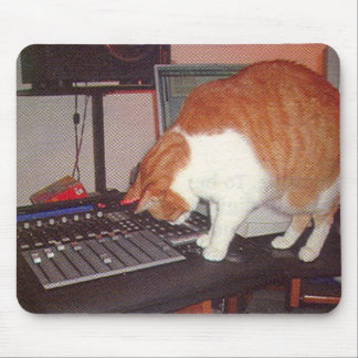 Producer Phat Cat Mouse Pad