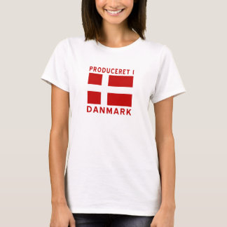 Produceret I Danmark Red T-Shirt