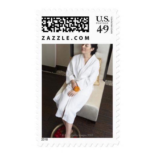 Producido en Pekín, China 2 Sello Postal