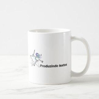 Producing texts robozinho star estrelinha coffee mugs