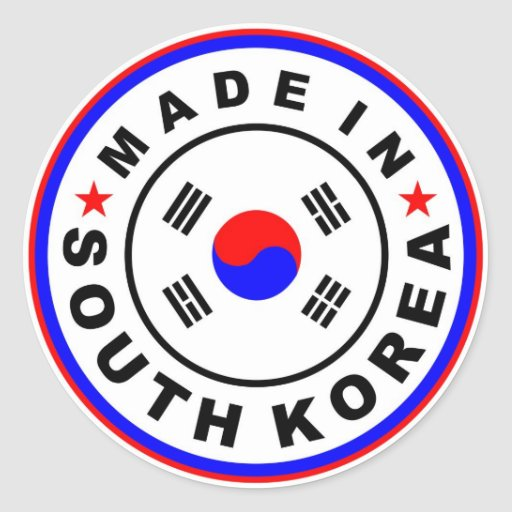 what products are made in south korea