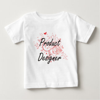 Product Designer Artistic Job Design with Butterfl Baby T-Shirt
