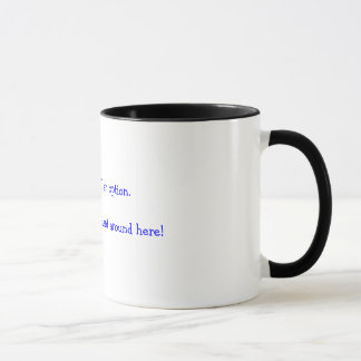 Product Labels In Real Life Mug