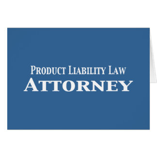 Product Liability Law Attorney Gifts Card