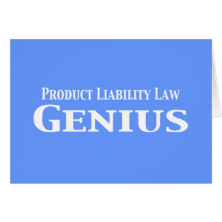 Product Liability Law Genius Gifts Card