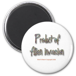 Product of Alien Invasion 2 Inch Round Magnet