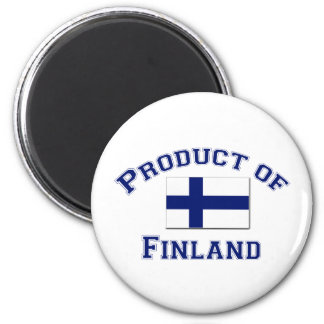 Product of Finland 2 Inch Round Magnet