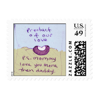 product of our love postage
