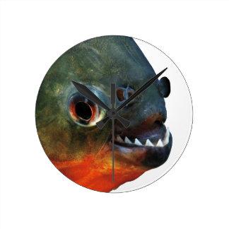 Product of piranha wall clocks